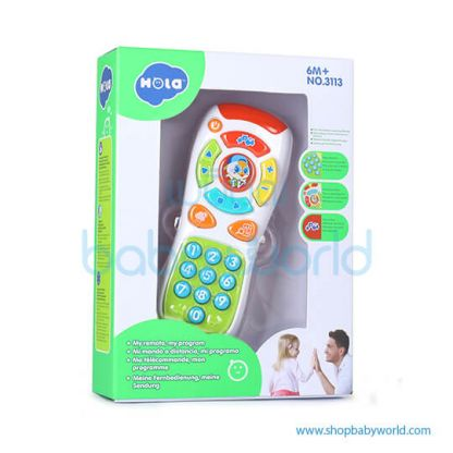 Hola My Remote with Music/Light/Language Learning 3113(2Pack 36)