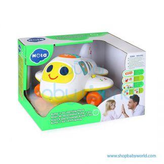 Hola Bump 'n Go Learning Plane with Music/Universal 6103(2Pack 12)