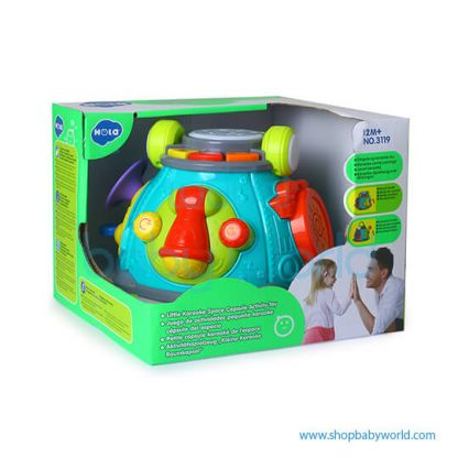 Hola Karaoke Space Capsule Activity Toy with Music/Light 3119(2Pack 12)