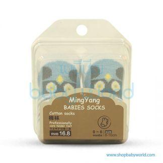 Baby Socks MYB-06BL-03