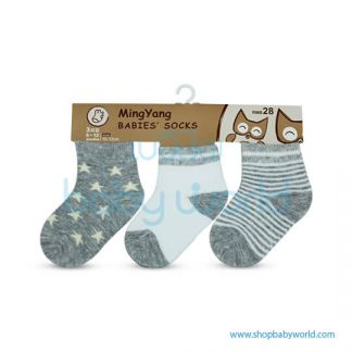 Baby Socks MYB-612WG-17
