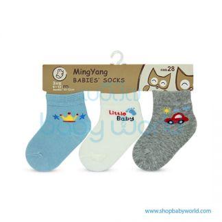 Baby Socks MYB-612WBR-18