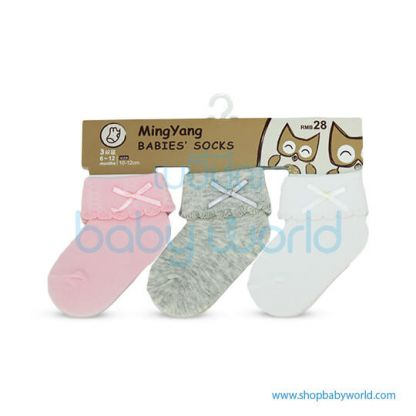 Baby Socks MYB-06PGW-19
