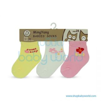 Baby Socks MYB-612WYP-20