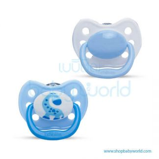 Dr. Brown Orthodonic Soother Blue Size1(0-6m)(12)