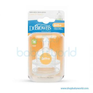 Dr. Brown(Level 3 Silicone WN, 2 pack)(12)