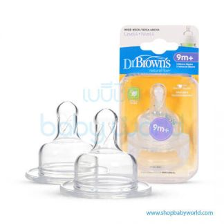 Dr. Brown(Level 4 Silicone WN, 2 Pack)(12)
