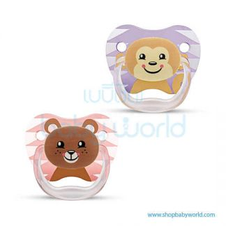 Dr. Brown PV Printed Shield Pacifier, S2Girl,2pack(12)