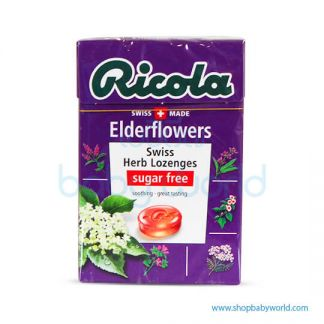 RICOLA ELDERFLOWERS without Sugar, 45g x 20 x 6(20)