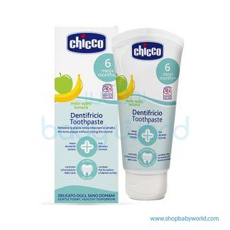 Chicco Toothpaste Apple-Banana 50ml 6m+ No Fluoride 02320100000(6)