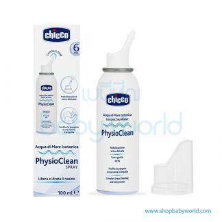 Chicco Isotonic Sea Water Physioclean Spray 05217000000(12)