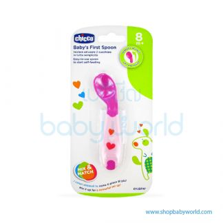 Chicco FIRST SPOON 8M+ GIRL 00016100100000( 6)