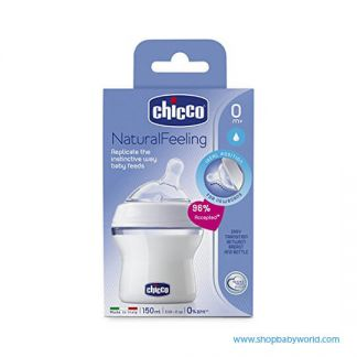 Chicco Natural Feeling Bottles Cluster 2 150 ML 80711000040(6)