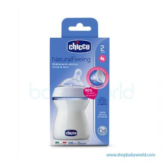 Chicco Natural Feeling Bottles Cluster 2 250 ML 80723000040(6)