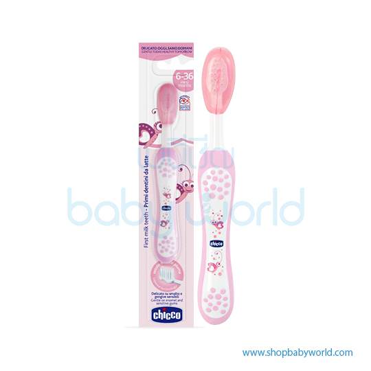Chicco Toothbrush 6-36m Pink 06958100000(12)