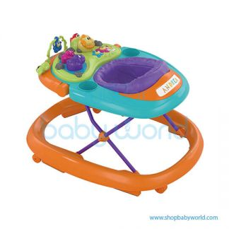 Chicco Walky Talky Baby Walker Orange Wave 07079540980000(1)