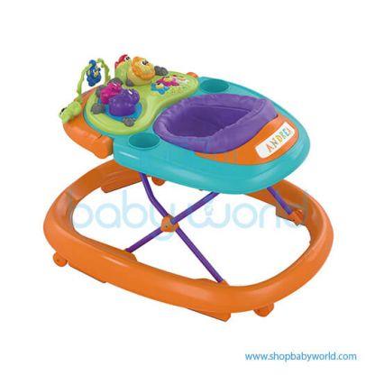 Chicco Walky Talky Baby Walker Orange Wave 07079540980000(1)