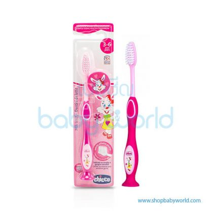Chicco Toothbrush 3-6Y Pink 09079100000(12)