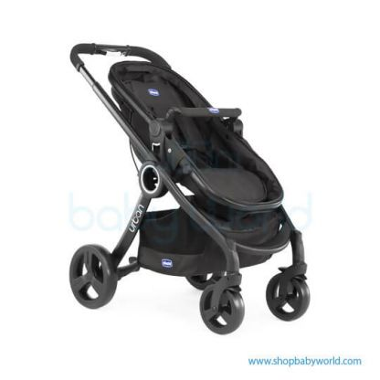 Chicco Juvenile Urban Stroller Plus Crossover Black 6079214950000(1)