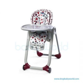 Chicco Chairs Polly Progres5 Cherry 05079336740000