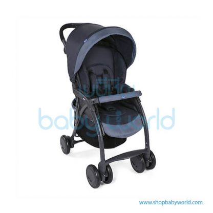 Chicco SIMPLICITY PLUS STROLLER INDIA INK 5079116390000(1)