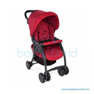Chicco SIMPLICITY PLUS STROLLER SCARLET 7079116300000(1)