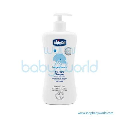 Chicco No-Tears Shampoo 500ml Pack 2 02840100000(6)