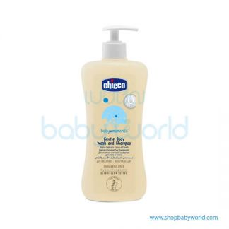 Chicco Gentle Body Wash And Shampoo 500ml Pack 2 02845100000(6)