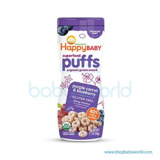 Happy puffs Blueberry and Purple carrot 60g (6)