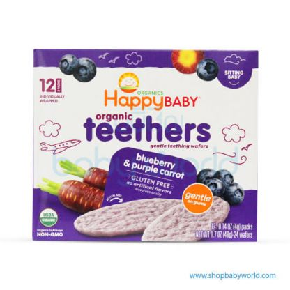 Happy Teethers Blueberry & purple carrot 48g (6)