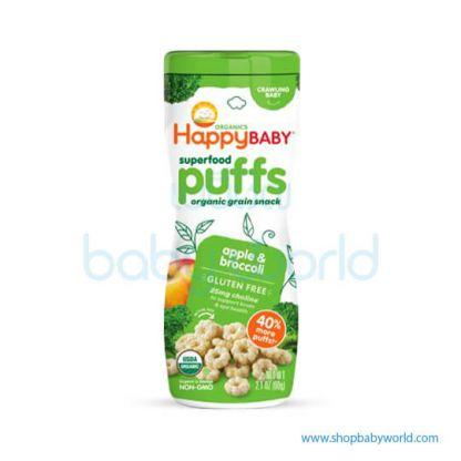 Happy puffs Broccoli& green apple 60g (6)