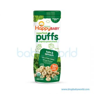 Happy puffs Puffs kale & Spinach Green 60g(6)