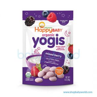 Happy Yogis Dried Yogurt Mixed Berry 28g(8)