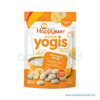 Happy Yogis Dried Yogurt Banana Mango 28g(8)(8)