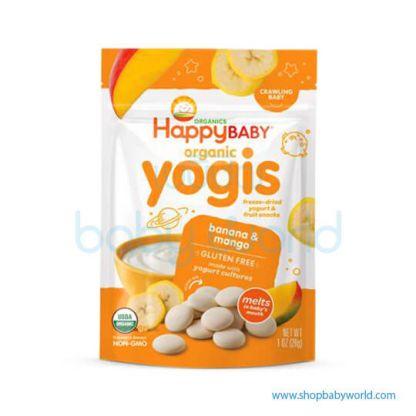 Happy Yogis Dried Yogurt Banana Mango 28g(8)(8)