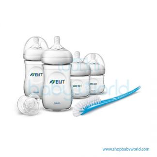 Philips AVENT: Natural Bottle Newborn Starter Set, SCD290/11(5)