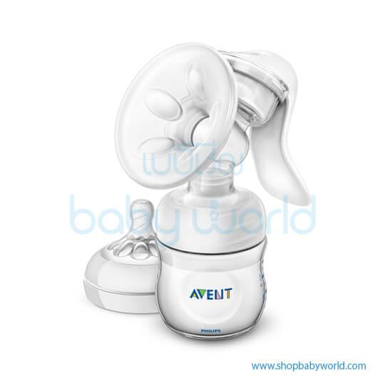 Philips AVENT: PP Natural Manual Breast Pump, SCF330/20(4)