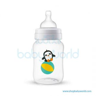 (DC)Philips AVENT: Classic+ PP 260ml/9oz 1 Bottle Penquin , SCF574/14(12)