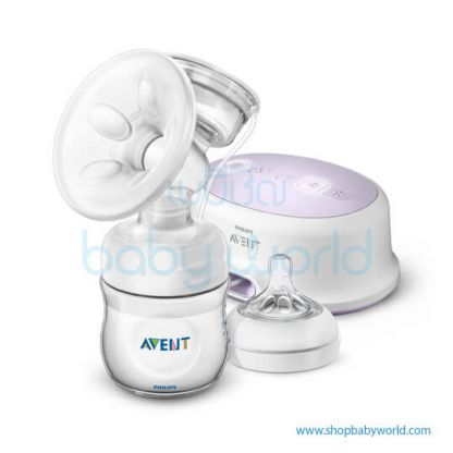 Philips AVENT: Set Natural Electronic Breast Pump (2Ys Wty), SCF332/31(2)