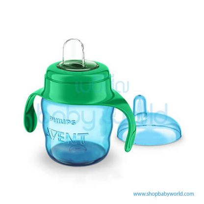 Philips AVENT: Classic Spout Cup 7oz Single 6M+ Green, SCF551/05(6)