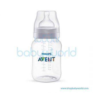 Philips AVENT: Classic Plus PP 9oz 3 Feeding Bottles,Pink SCF813/37 (6)