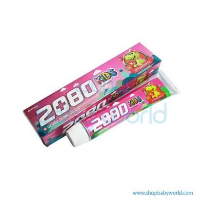 2080 Kids Toothpaste Strawberry 80g (36)