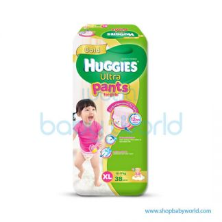 Huggies ULTRA PANTS GIRL SUPER JUMBO XL-38(3 )