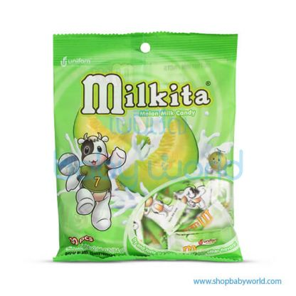 Milkita Original Flavor Milk Candy Bag(20Bag x 90g). (20)