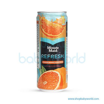 Minute Maid Refresh Mango Ornage 330ml 24C