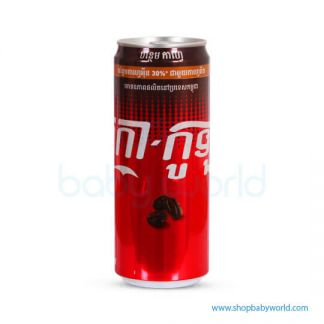 Coca-Cola Cafe 330ml Sleek 24C(24)