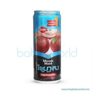 Minute Maid Refresh Apple 330ml 24C
