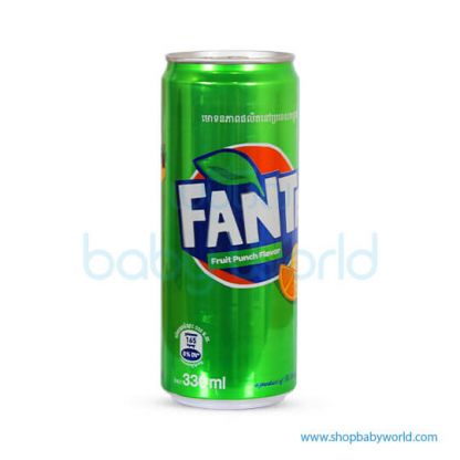 Fanta Fruit Punch 330ml Sleek 24C