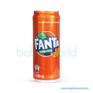 Fanta Orange 330ml Sleek 24C