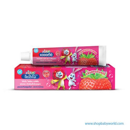 KDM Toothpaste Gel Strawberry 40gmx36(36)